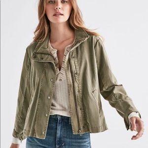 New!  Lucky Brand Bicky Utility jacket army green